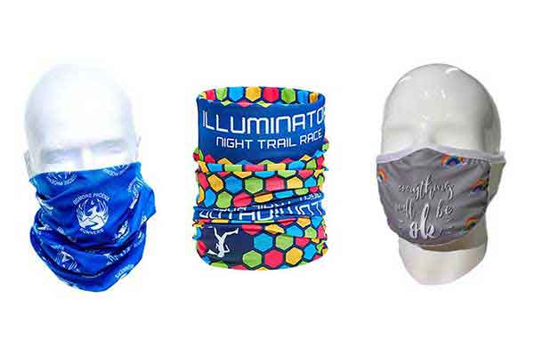 Cloth Masks & Neck Tube Bandanas