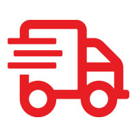 Express Shipping Truck Icon
