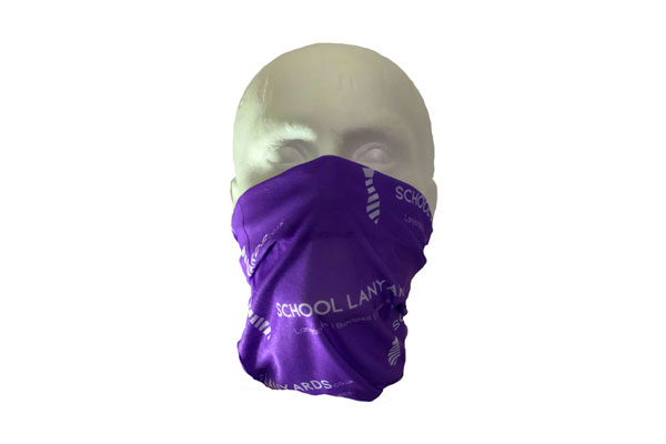 Antimicrobial Neck Tube Bandana - Front View