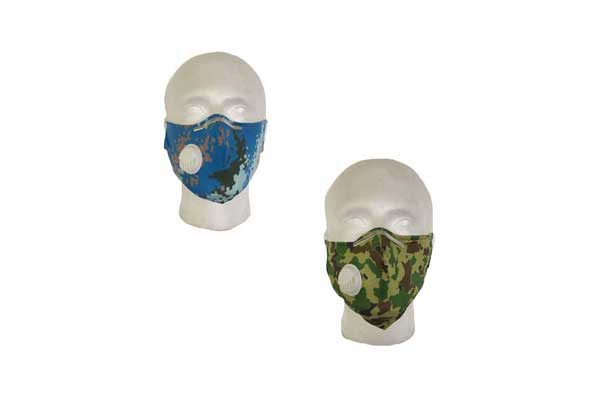 Camouflage Cloth Face Mask