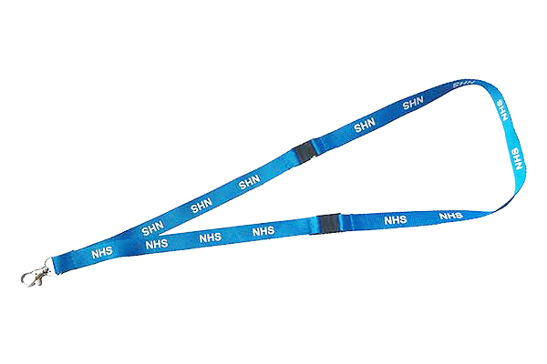 NHS Double Break Lanyard