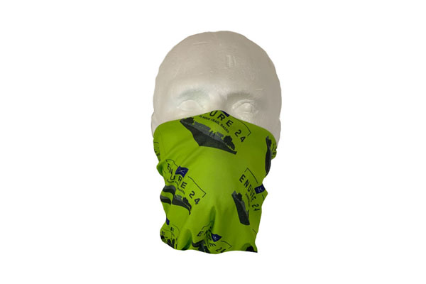 Double Layer Neck Tube Bandana - Front View