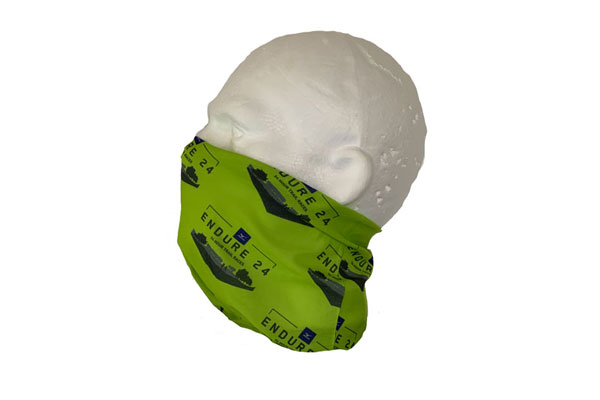 Double Layer Neck Tube Bandana - Side View