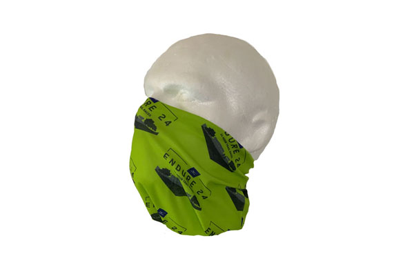 Double Layerl Neck Tube Bandana - Side View