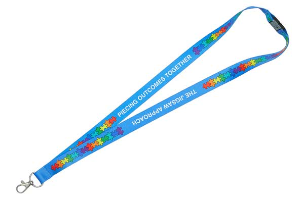 Dye Sublimation Printed Recycled Lanyard