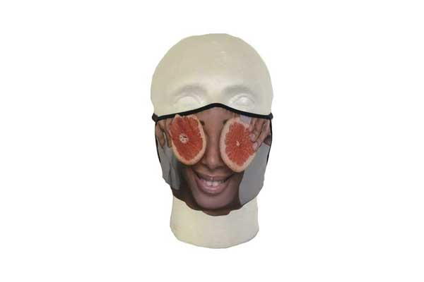 Spa Mask (Eyes Design) - Front View