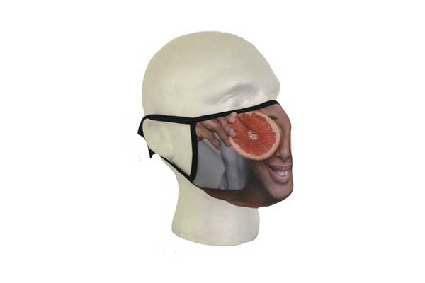 Spa Mask (Eyes Design) - Side View