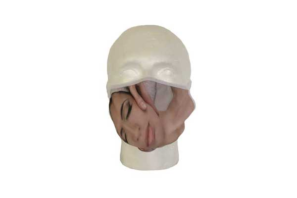 Spa Mask (Face Design) - Front View