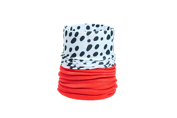 Fleece Lined Neck Tube Bandana