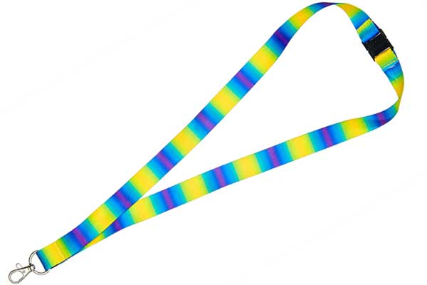 Full Colour Heat Transfer Lanyard