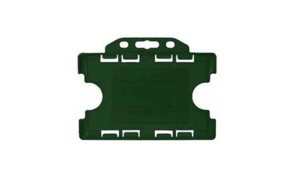 Green Landscape Double ID Card Holder