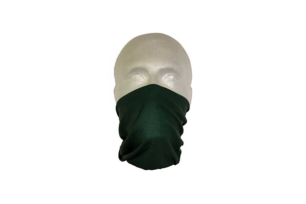 Green Multifunctional Face Cover Bandana - Worn As A Face Cover