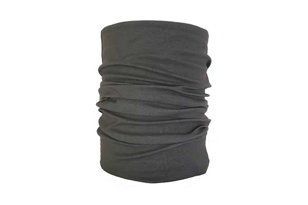Grey Neck Tube Bandana