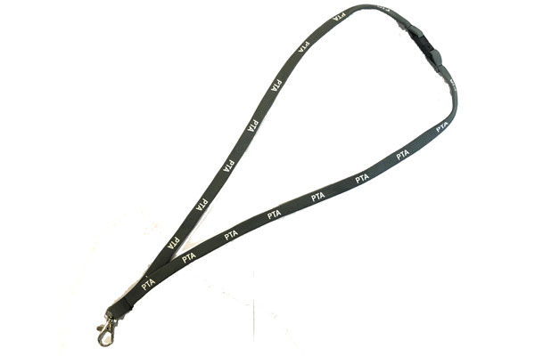 Grey PTA Lanyard - Cool Grey
