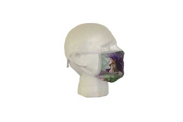 Spa Mask (Hair Design) - Side View