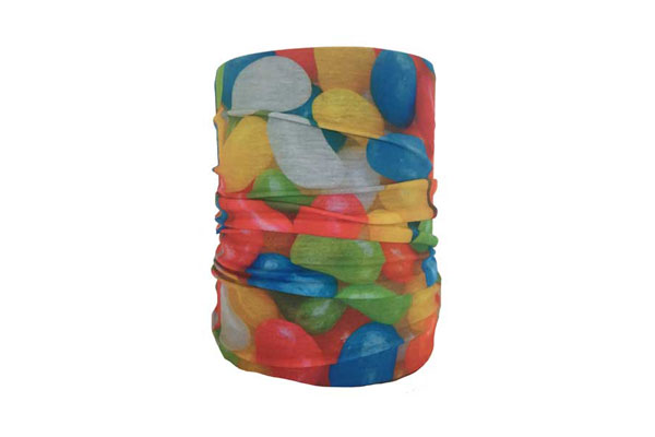 Jelly Beans Neck Tube Bandana