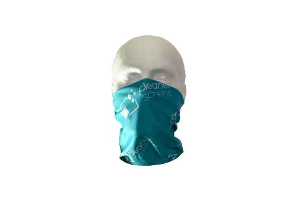 Lecia SPF 50+ Neck Tube Bandana - Front View