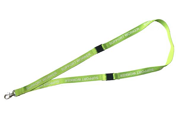 Support Worker Lanyard