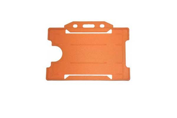 Orange ID Card Holder