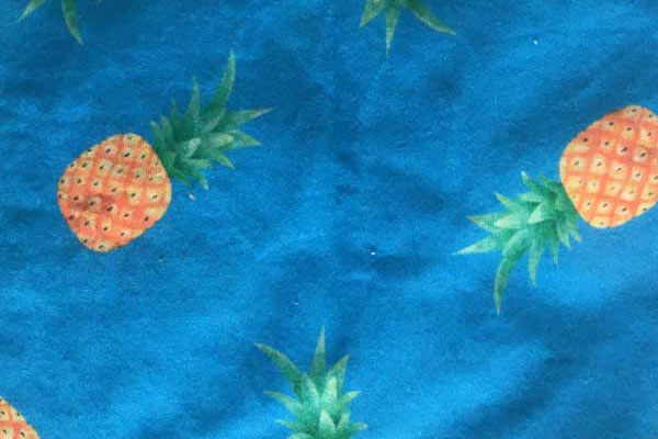 Pineapple Neck Tube Bandana - Print Detail