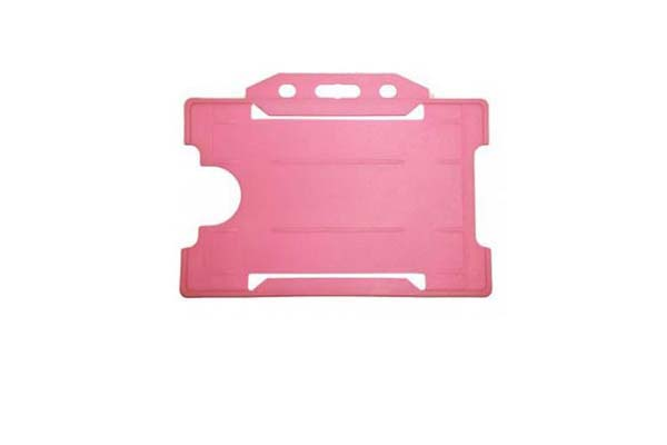 Pink ID Card Holder