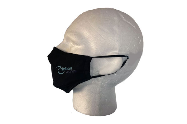 Printed Cotton Mask - Side View