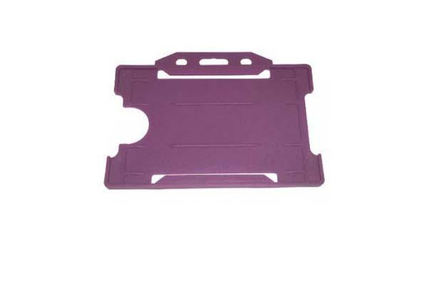 Purple ID Card Holder