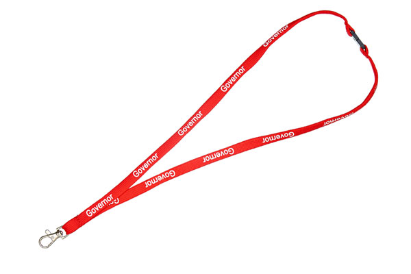 Red Governor Lanyard