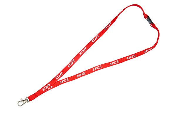 Red Staff Lanyard