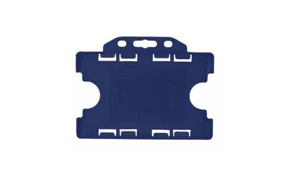 Royal Blue Landscape Double ID Card Holder