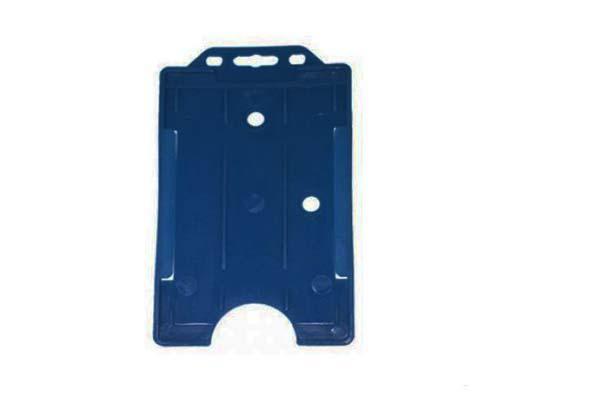 Royal Blue Portrait ID Card Holder