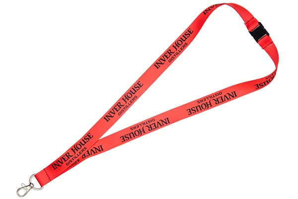 Custom Screen Printed Lanyard - Smooth Lanyard Fabric