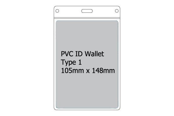 Type 1 PVC Wallet