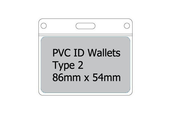 Type 2 PVC Wallet