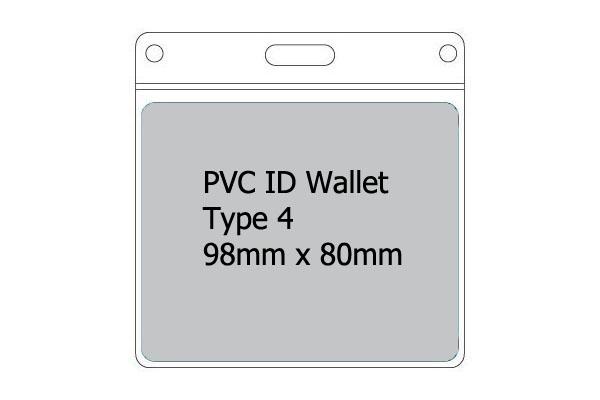 Type 4 PVC Wallet