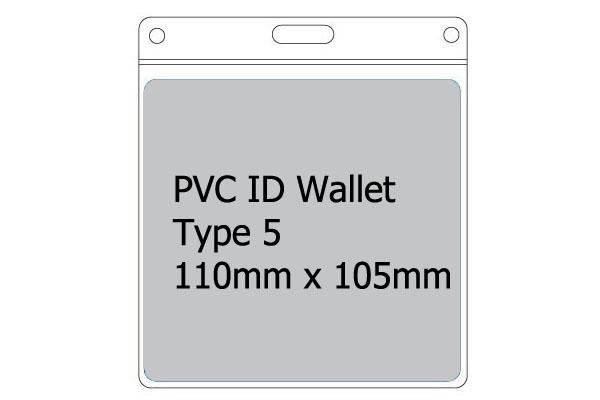 Type 5 PVC Wallet