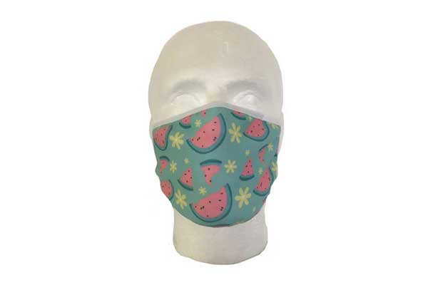 Watermelon Cloth Face Mask - Front View