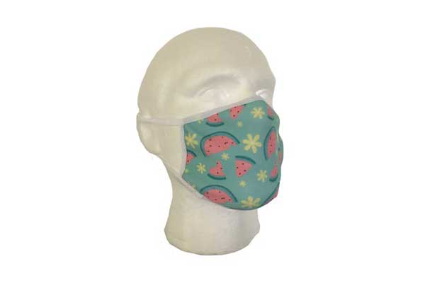 Watermelon Cloth Face Mask - Side View