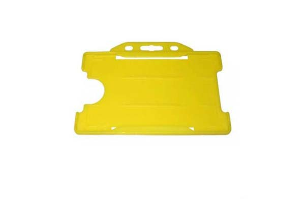 Yellow Landscape Double ID Card Holder