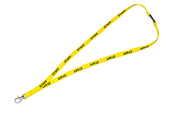 Yellow Staff Lanyard