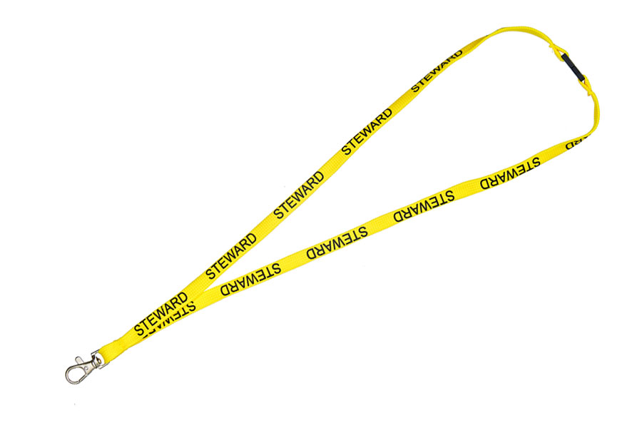 Yellow Steward Lanyard (Process Yellow)